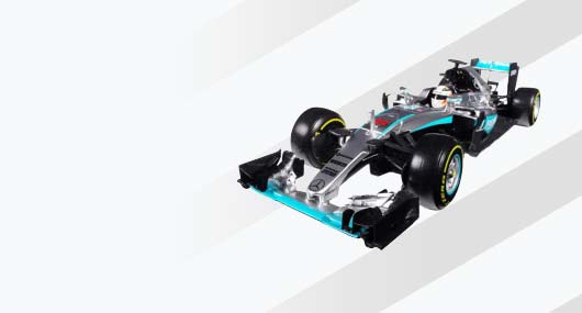 F1 and motorsport Diecast Scale car Models