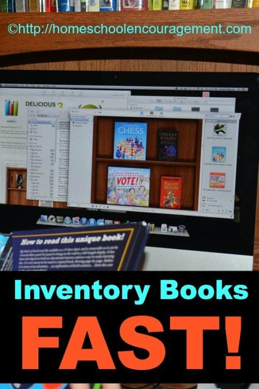 Quickly and easily inventory anything with a UPC symbol using. #homeschool