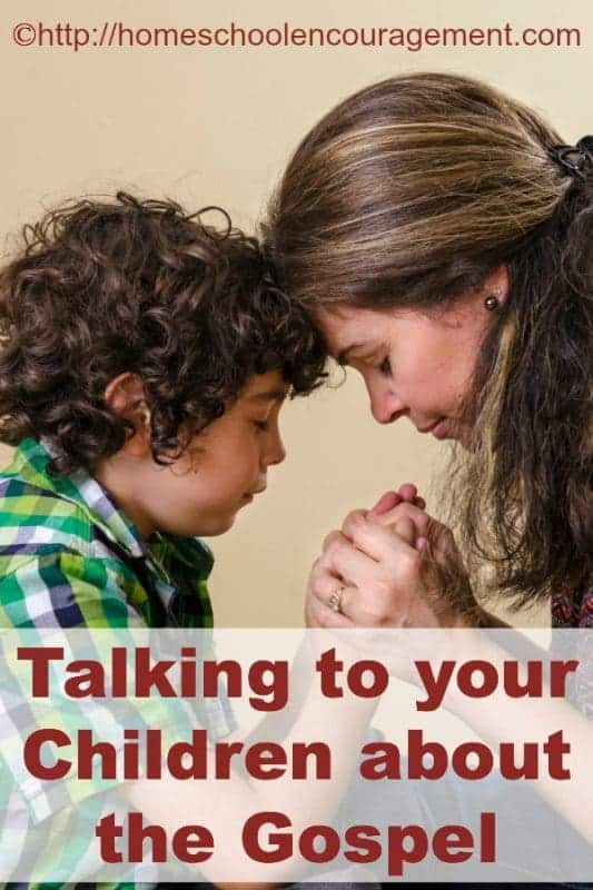 When is the last time you talked with your kids about the Gospel? It's important and something that we need to be intentional about. Take a look at a few resources to help you add the Gospel naturally to your everyday conversation with your kids.