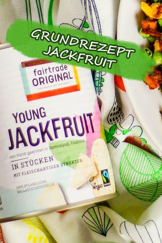 Jackfruit vorbereiten