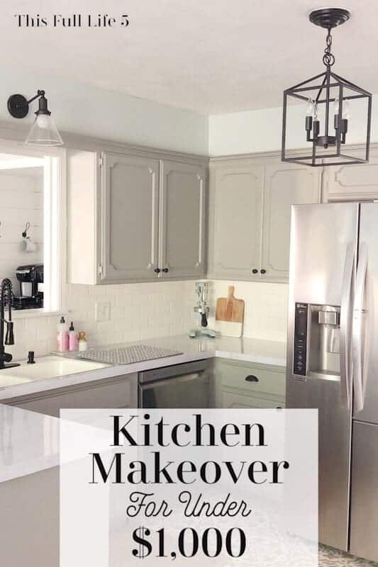 Budget Kitchen Makeover