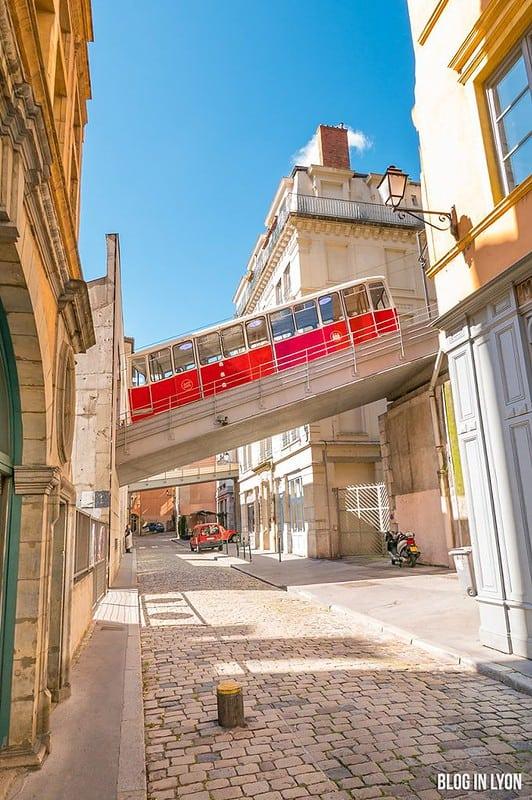 Funiculaire de Lyon | Blog In Lyon - Webzine Lyonnais
