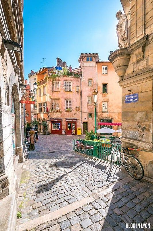 Montée du Gourguillon   Blog In Lyon