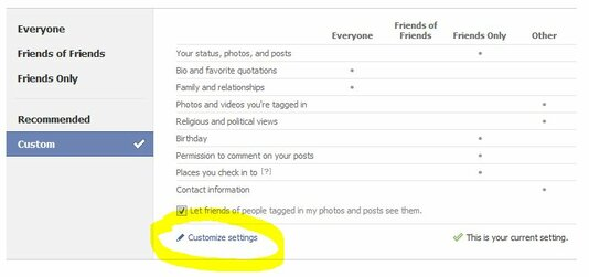 How To Segment Your 'Friends' & Control Your Privacy Settings In Facebook 4