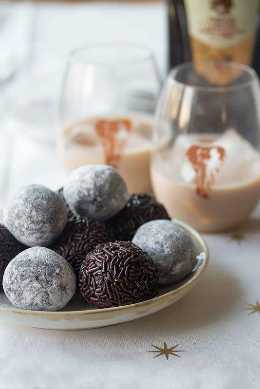 Dark Chocolate Amarula Balls