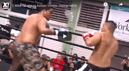 2 Mike Tevaga vs Ashton Visoria : Hawaii MMA