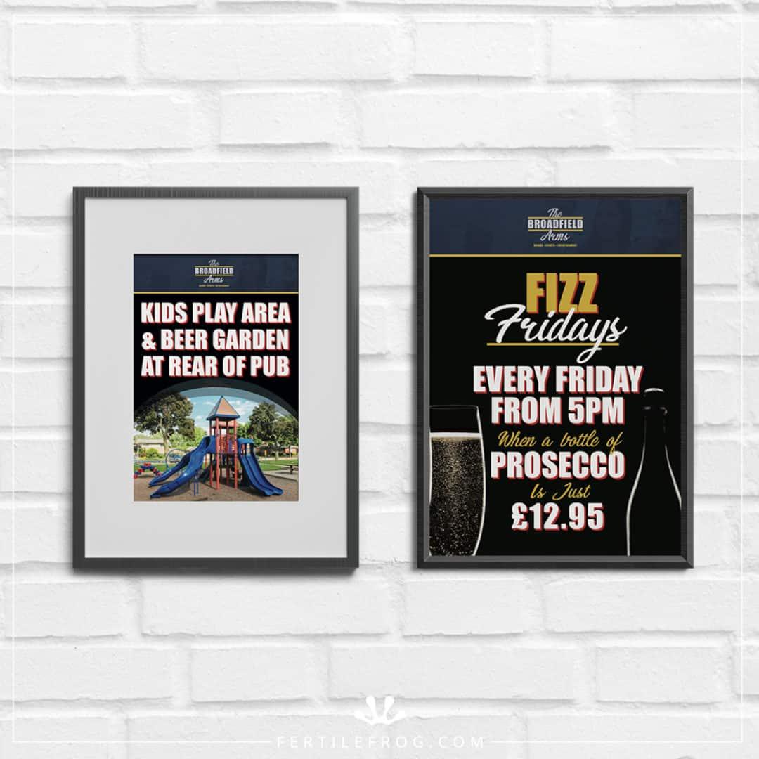 Community Pub Poster Design