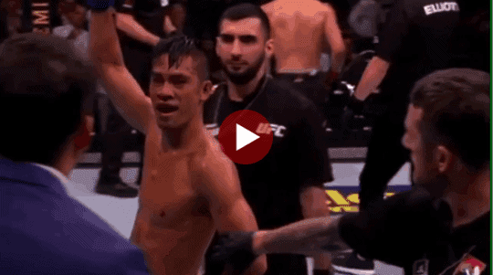 Tyson Nam UFC KO Highlights