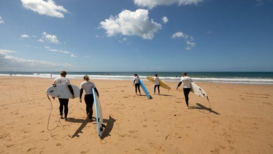 intermediate surf lesson lisbon