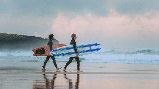 surf guiding lisbon algarve surfguide