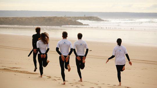 intermediate surf lesson algarve