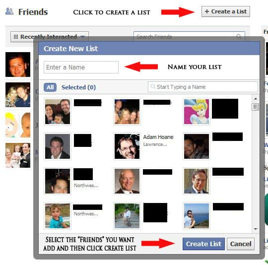 How To Segment Your 'Friends' & Control Your Privacy Settings In Facebook 2