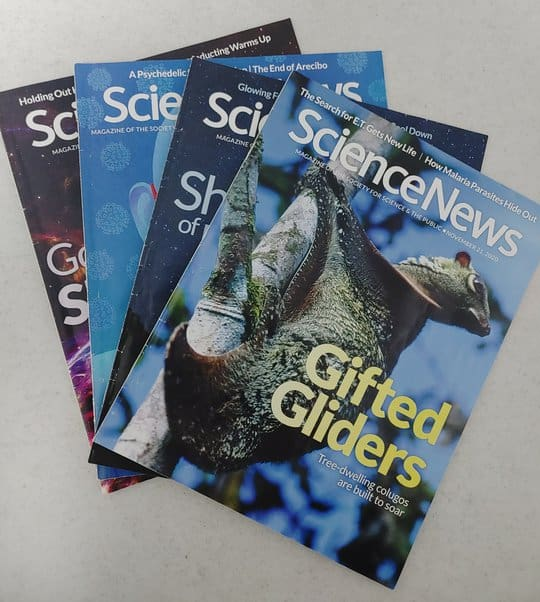 Science News Magazines