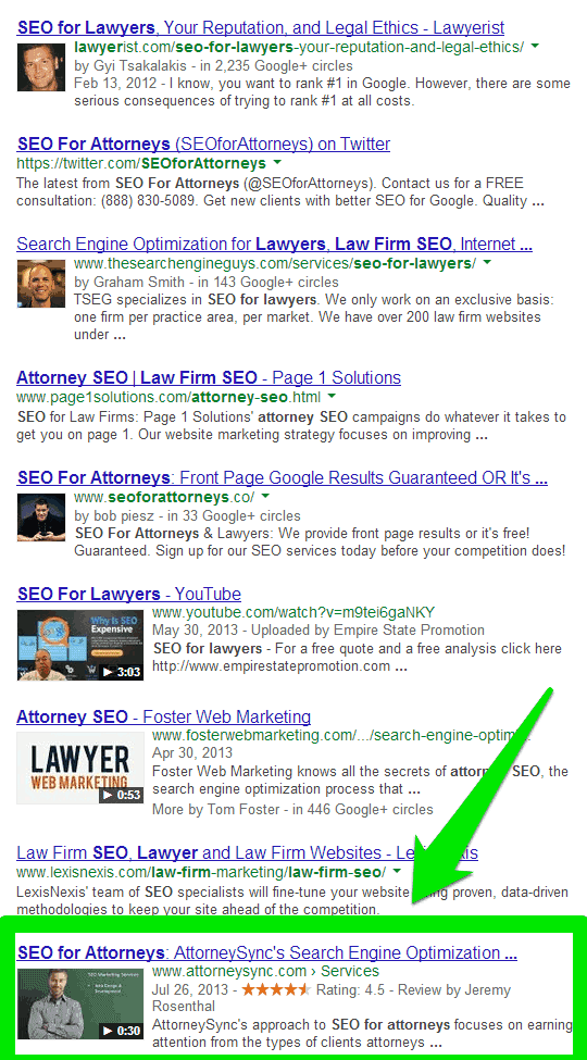 seo for attorneys   Google Search