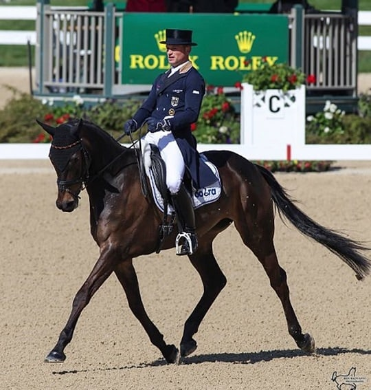 Jung and Ashker Lead After First Day of Dressage at 37th Rolex Kentucky Three-Day Event
