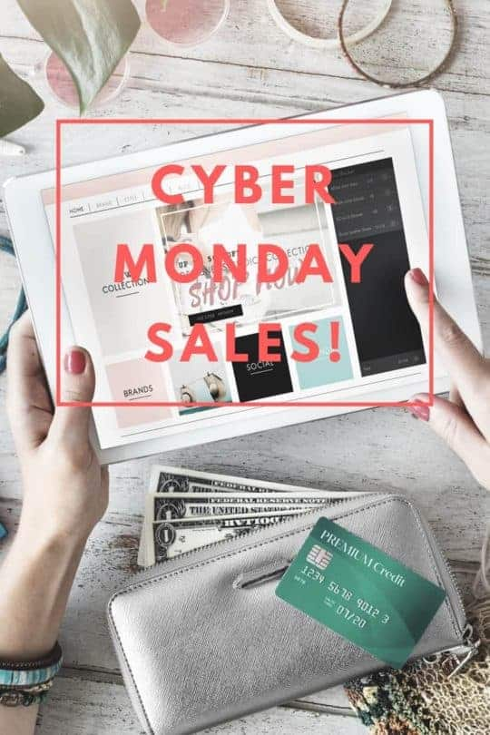 MY FAVORITE CYBER MONDAY SALES FOR HOME DECOR 2017