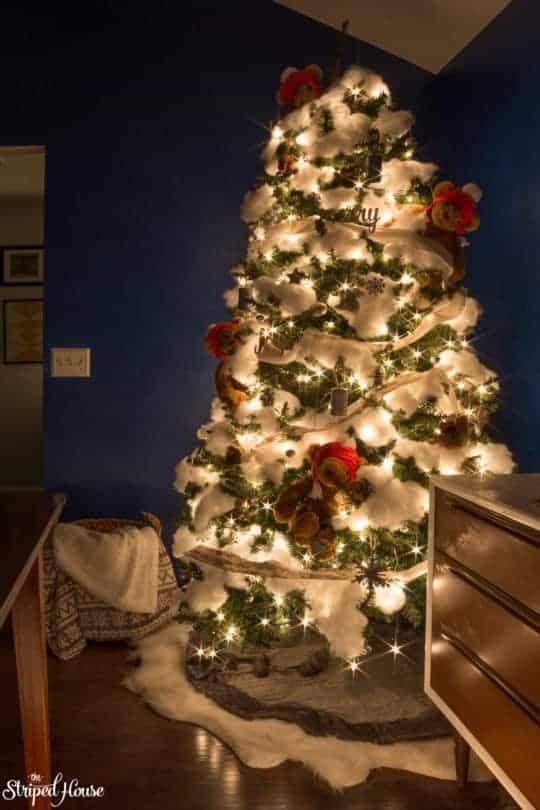 WINTER BEAR CHRISTMAS TREE
