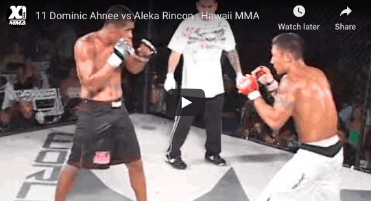 11 Dominic Ahnee vs Aleka Rincon : Hawaii MMA