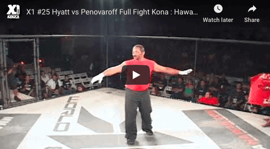 X1 #25 Hyatt vs Penovaroff Full Fight Kona Hawaii MMA