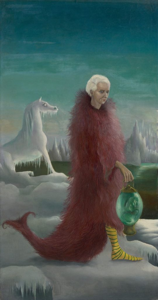 Portrait of Max Ernst (1939) by Leonora Carrington