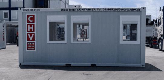 CHV Sanitätscontainer Covid-19 Testlabor