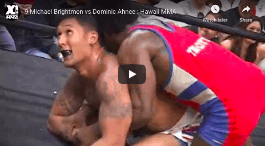 9 Michael Brightmon vs Dominic Ahnee : Hawaii MMA