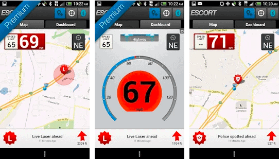 image showing speed, traffic and map