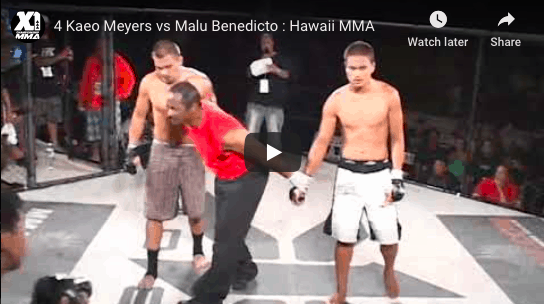 4 Kaeo Meyers vs Malu Benedicto : Hawaii MMA