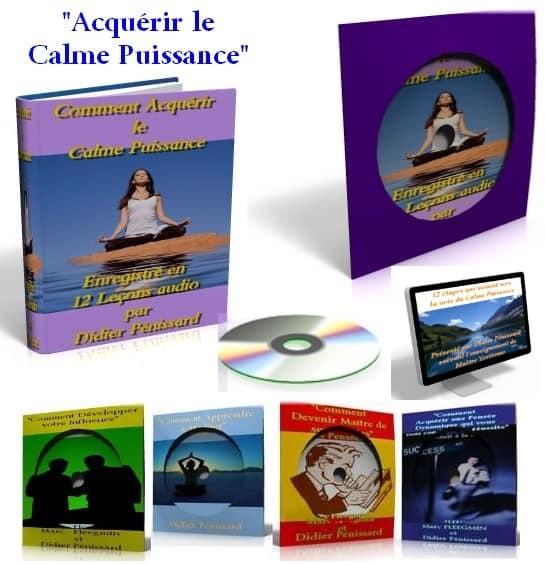 Le programme d'inititation du calme puissance pour acquérir la ma^trise soi et le contrôle de soi