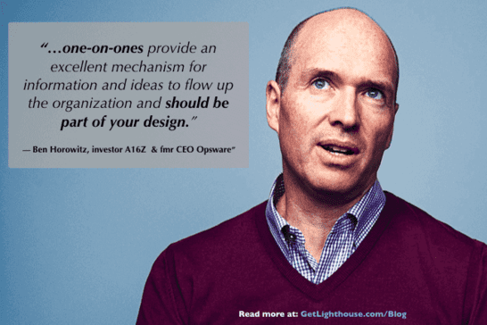 questions to ask an interviewer ben horowitz knows how key 1 on 1s are