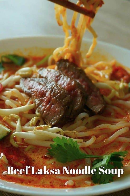 Laksa Curry Soup Recipe