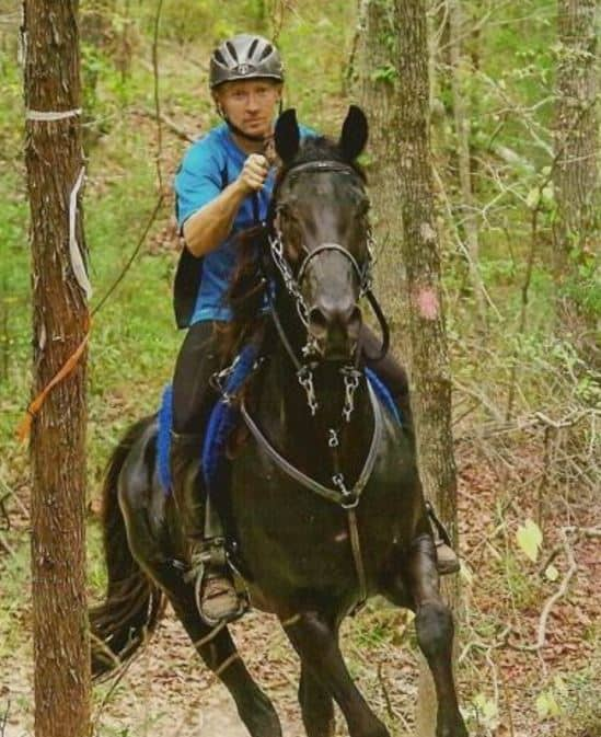 Justin Nelzen the horse hero dies at 40