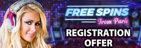 Bgo Casino register and collect your free spins from Paris Hilton
