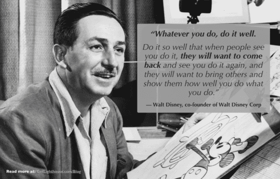 walt disney knows if you do anything you should do it well including skip level 1o n 1 meetings