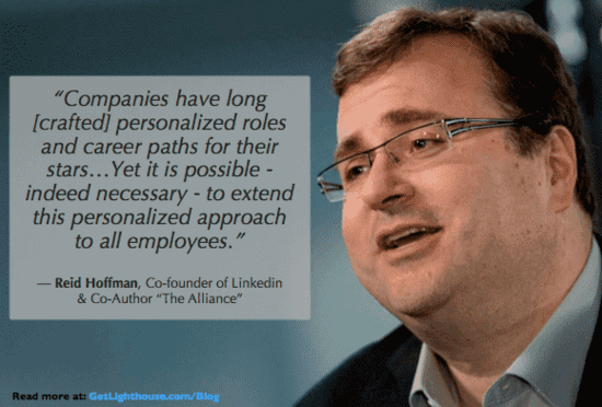 reid hoffman knows remote people have to grow