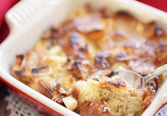 Croissant Breakfast Bread Pudding For One   One Dish Kitchen
