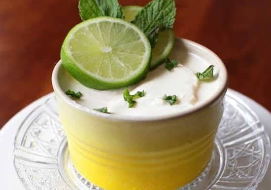 Lime Posset For One | One Dish Kitchen