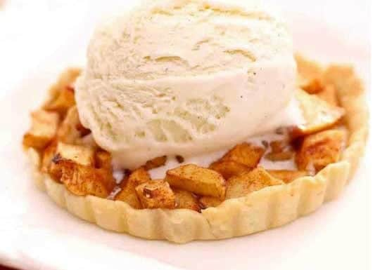 Apple Pie For One | One Dish Kitchen