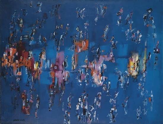 Norman Lewis, Untitled, ca. 1957.