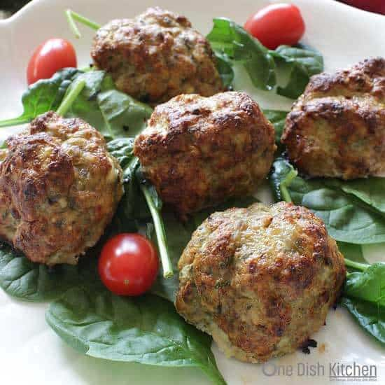 Turkey Meatballs For One | One Dish Kitchen | Game Day Recipes