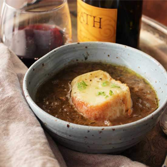 French Onion Soup For One | ONE DISH KITCHEN