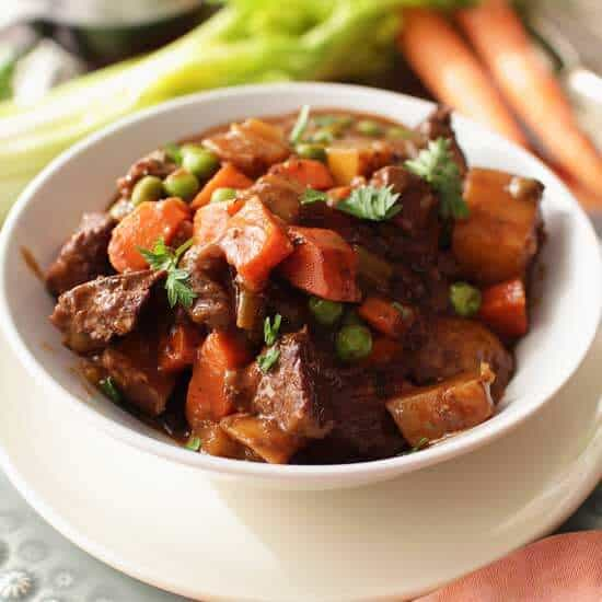 Beef Stew For One | One Dish Kitchen