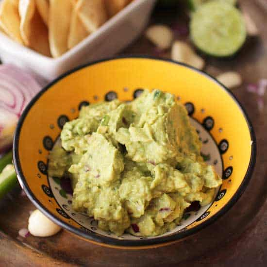 Guacamole For One | One Dish Kitchen | Game Day Recipes