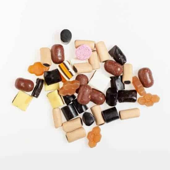 Dutch Liquorice All Sorts Mix from saint valentines liquorice company online shop valentines-liquorice.uk