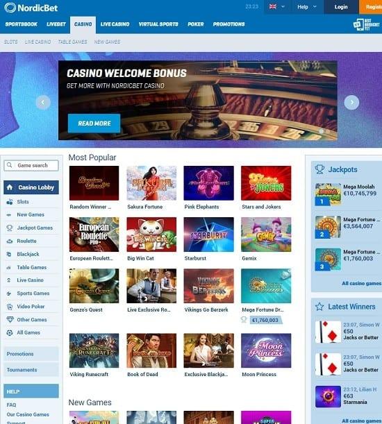 Nordicbet Casino review