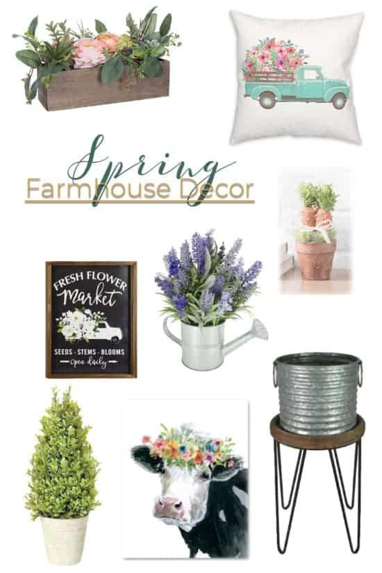 Spring Decor Refresh and Spring Farmhouse Decor
