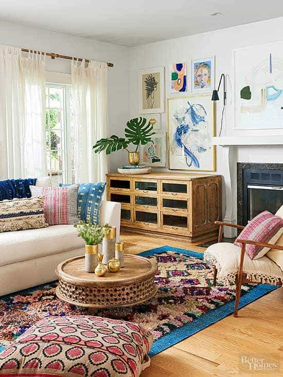 Nice Modern Boho Home Decor : 5 Simple Ways To Achieve The Look!