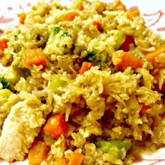 Cauliflower Fried Rice Done