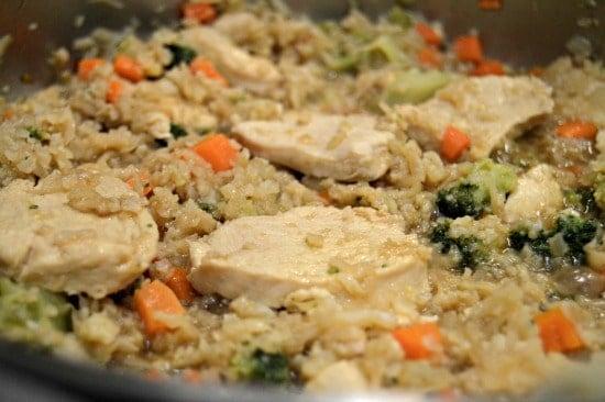 Cauliflower Fried Rice Recipe Step Eight