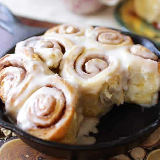 Cinnamon Rolls For One   One Dish Kitchen